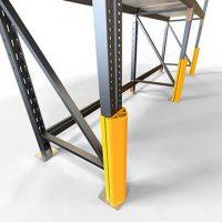 Protection verticale pour rack