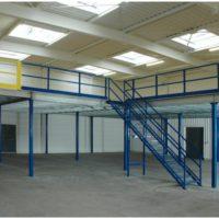 plateforme de stockage mezzanine